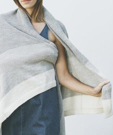 Bare Knitwear Throw Blanket