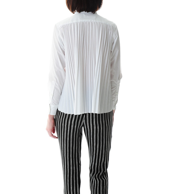 Sacai Luck Pleated Back Blouse