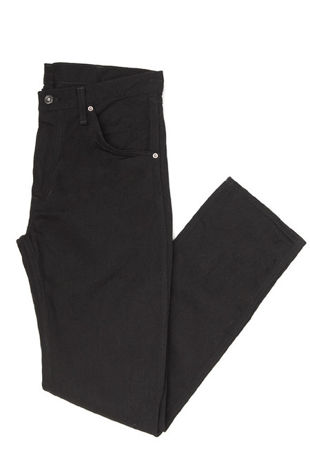 Men's Shuttlenotes Five Truckers Pants Black Denim