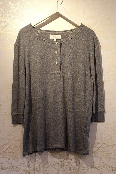 The Great Long Henley Tee