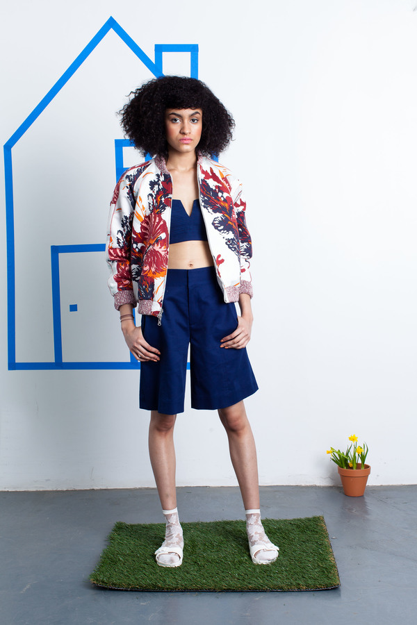 Nikki Chasin Captain Reversible Bomber