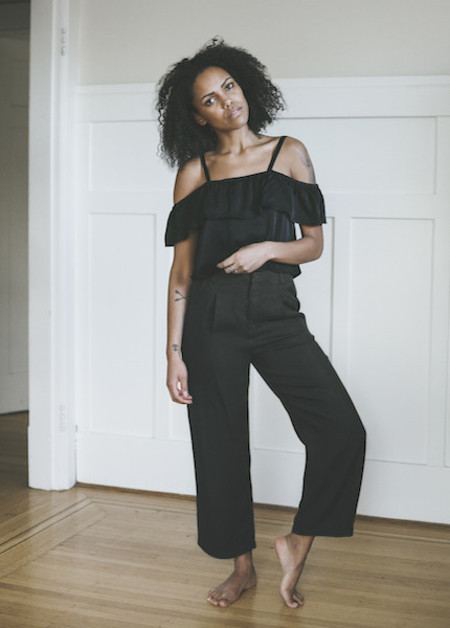 Lacausa Isabelle Trouser in Tar