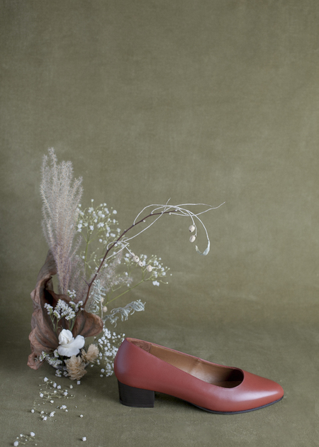 Anne Thomas Michele Shoe - Brick
