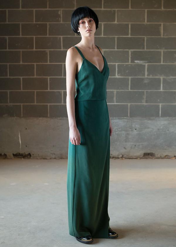 Malorie Urbanovitch Full Length Wrap Skirt