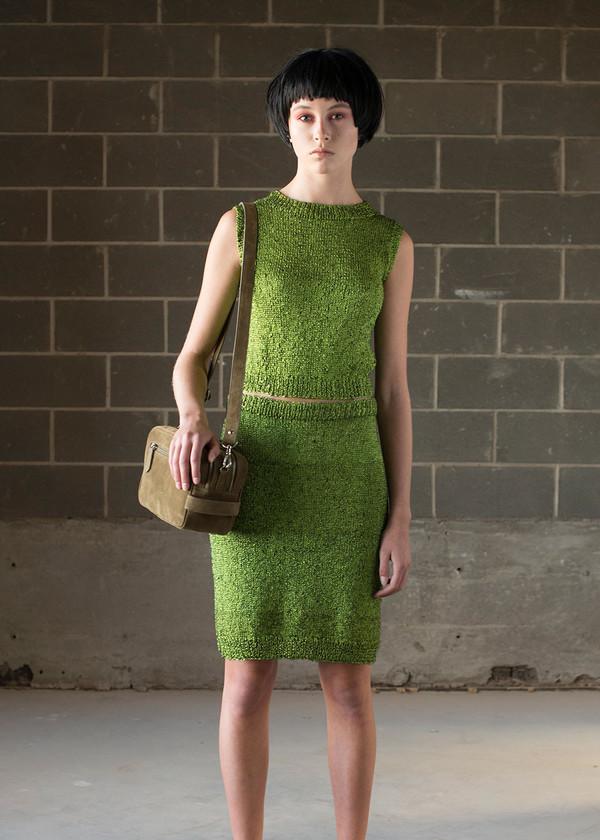 Malorie Urbanovitch Hand Knit Acid Tank