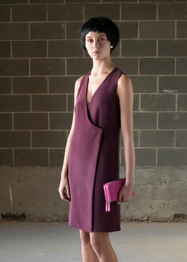 Malorie Urbanovitch Wrap Dress