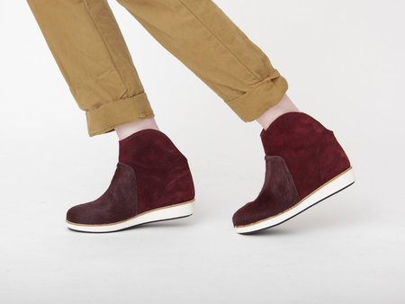 Reality Studio Zone Boot - Burgundy