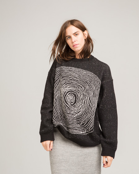 giu giu Spiral sweater