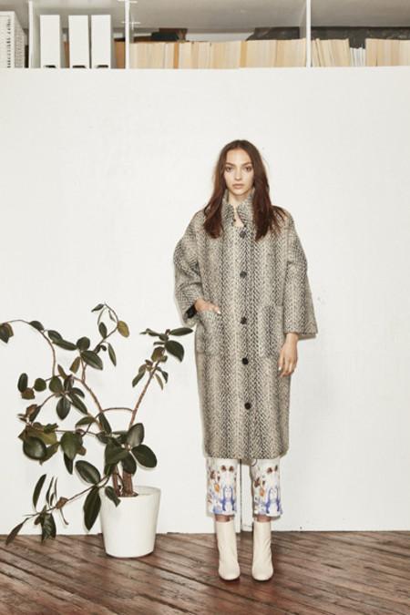 H. Fredriksson F16 Kate Coat Tweed