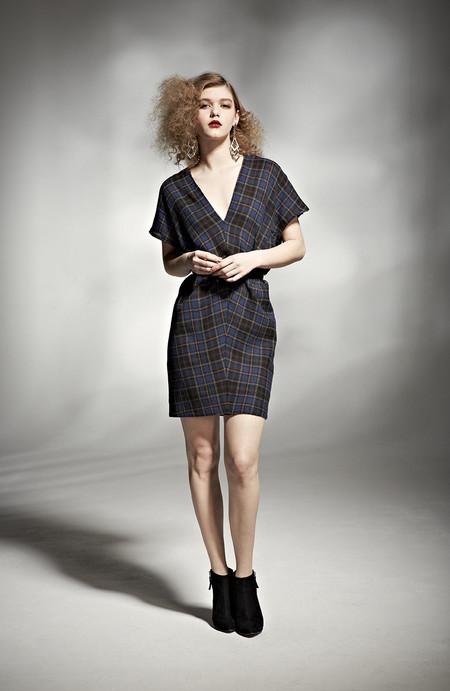 H. Fredriksson W 14 Juno Dress Plaid