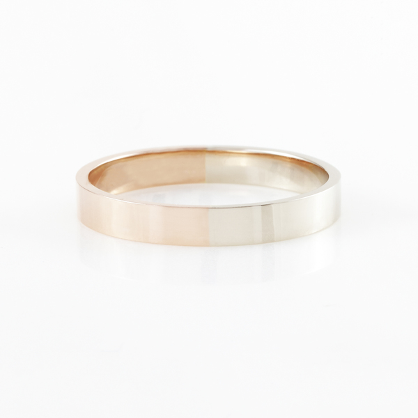 Percentages 50-50 Ring 2 Gold