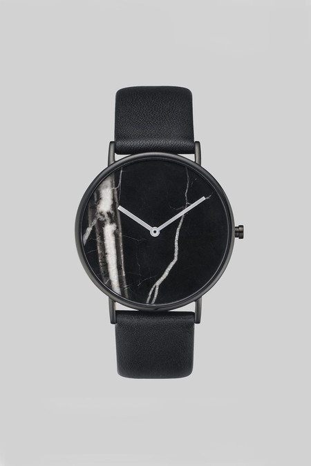 "The Horse Marble 'The Stone"" Watch - Black"
