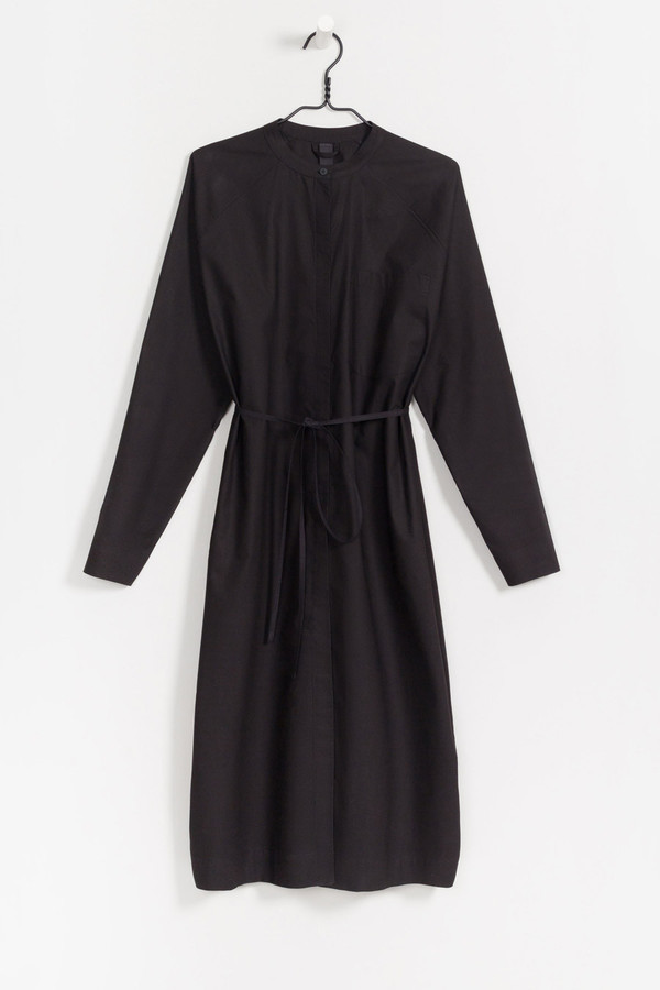 Kowtow Stahl Housecoat in Black