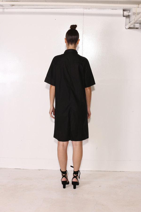 Intentionally Blank COLEUS DRESS Black