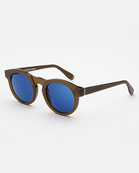 RetroSuperFuture Boy Sunglasses in Deep Brown