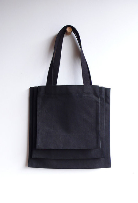 Sara Barner Canvas Stack Tote