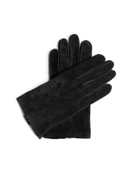 Our Legacy Gloves Black Ruffle Hide