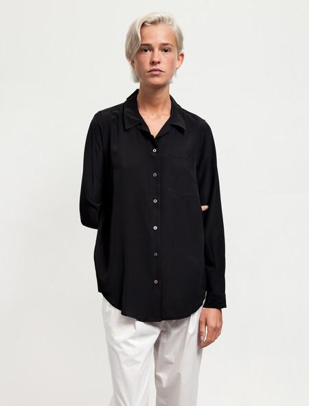 Sherie Muijs Womens Shirt No°1 Pure Silk Black