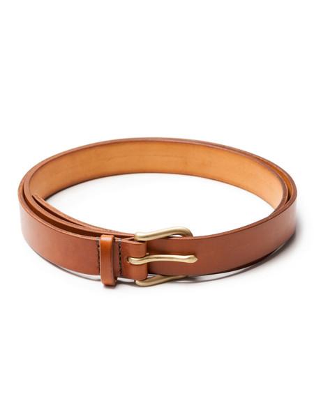 Maximum Henry Slim Standard Belt Chestnut