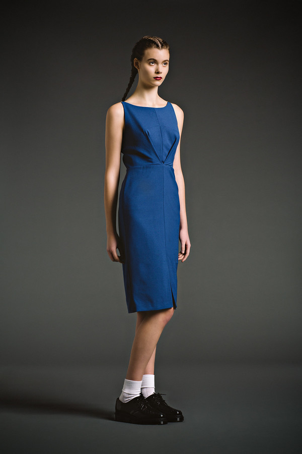 Eliza Faulkner Milah Dress - Blue