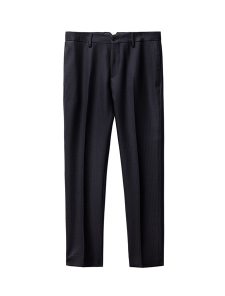 Acne Studios Stan Trouser Herringbone Wool Navy