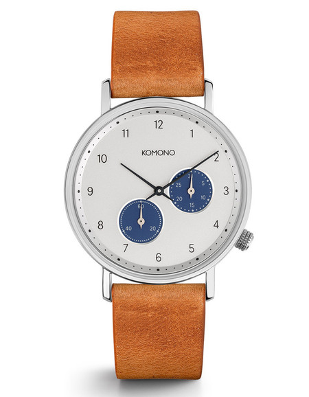 Komono Walther Crafted Watch Camel