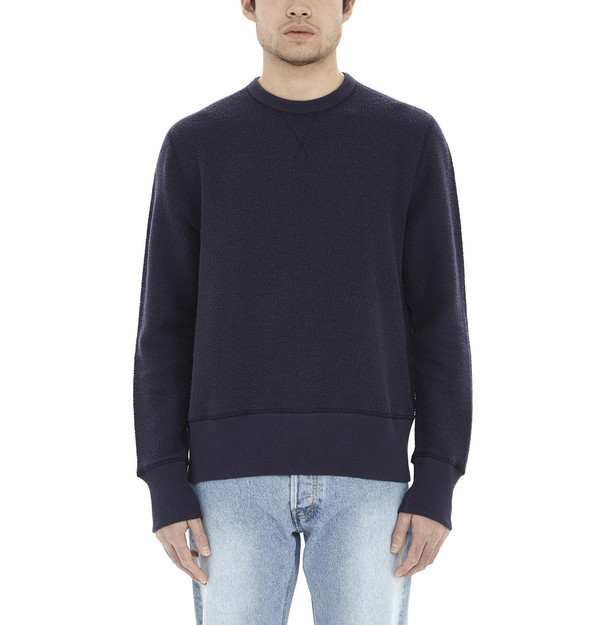 Men's Our Legacy Reversible Sweater I Marine