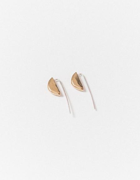 Kiki Koyote Slope Earrings