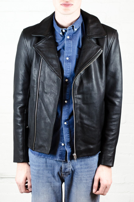 Won Hundred Gilbert Leather Jacket