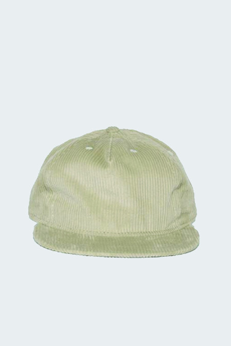 Paa Wide Wale Corduroy Pleat Cap Stone