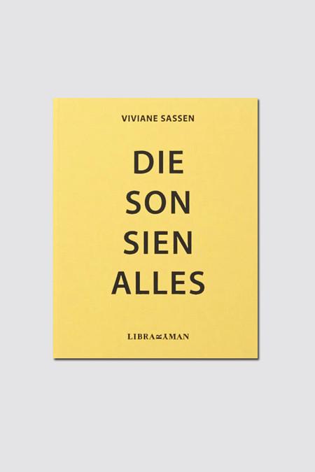 Libraryman Vivianne Sassen - Die Son Sien Alles