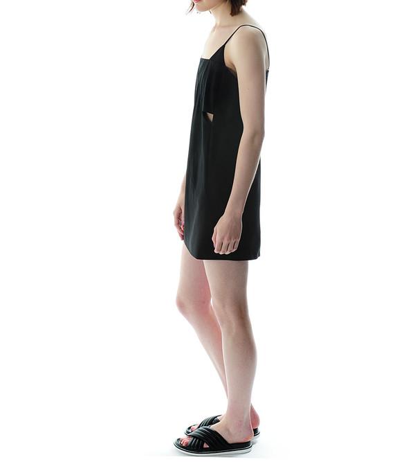 Mason By Michelle Mason Black Cut Out Shift Dress