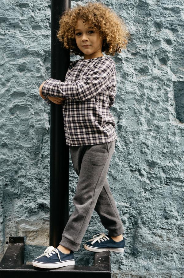 Kid's Boy+Girl Fleece Throw Lounge Pant