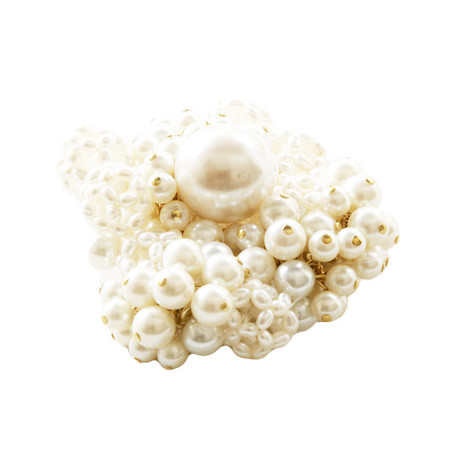 Slow and Steady Wins the Race Pearl Brooch