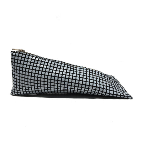 Slow and Steady Wins the Race Pyramid Pencil Case in Grid