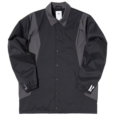 ADIDAS BY WHITE MOUNTAINEERING LONG BENCH JACKET - BLACK