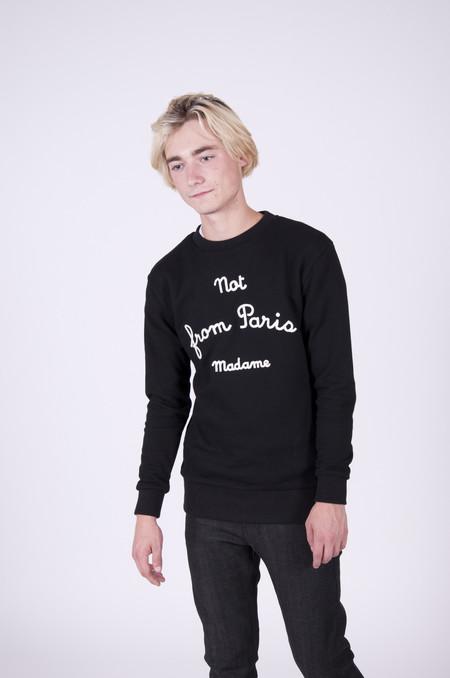 Drôle de Monsieur NFPM Sweatshirt Black