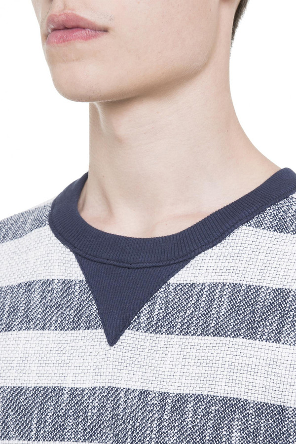 Men's Timo Weiland REVERSE TERRY CREW NECK