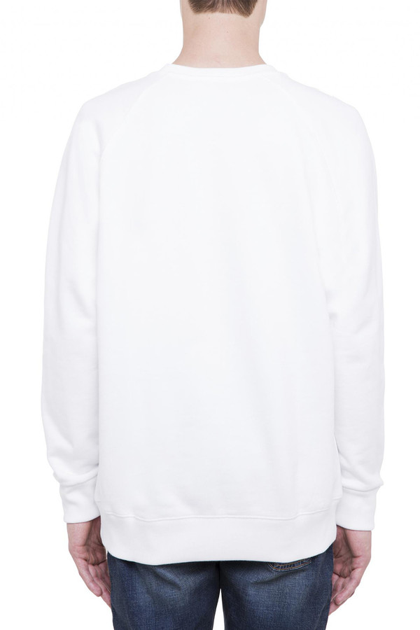 Men's Kitsune White Fox Patch Sweatshirt