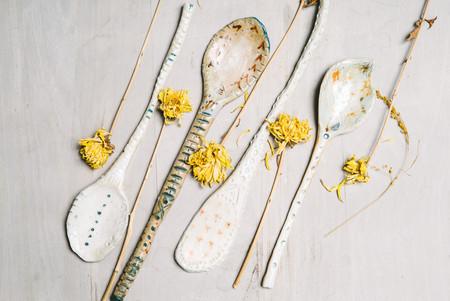 Pauline de Roussy de Sales Ceramic Spoons