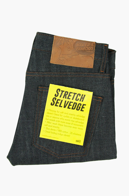 Naked & Famous Super Skinny Guy Stretch Selvedge