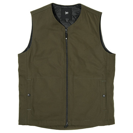 {ie INSULATED VEST - LICHEN