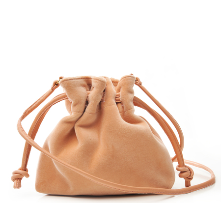Clare V Blush Velvet Petit Henri Bag