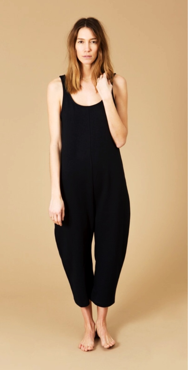 Ilana Kohn French Terry Gary Jumpsuit Navy