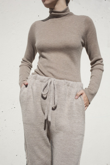 Lauren Manoogian Arch Pant in Oatmeal
