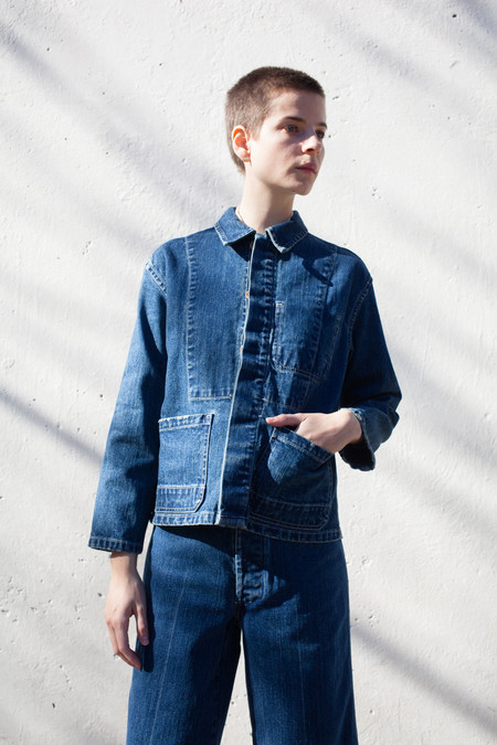 Caron Callahan Krasner Jacket in Denim