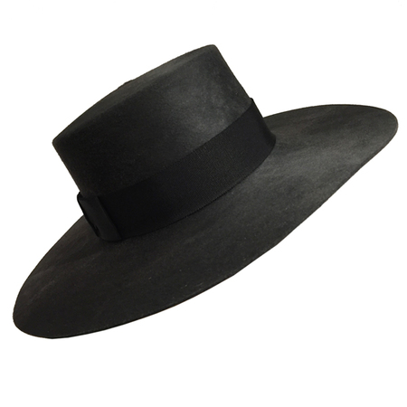 Yestadt Millinery DIVISION CHARCOAL