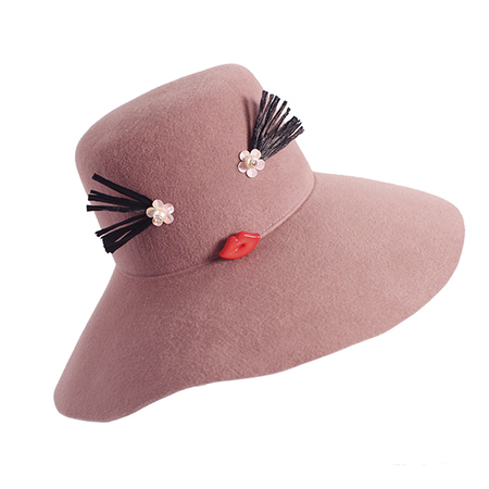 Yestadt Millinery CHEEKY DUSTY PINK