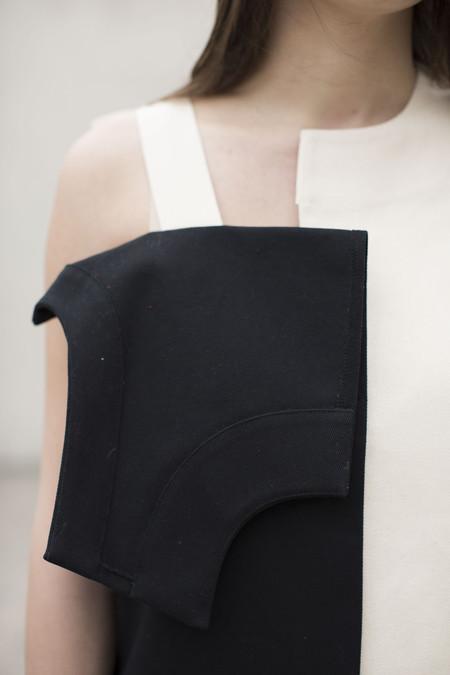 Nancy Stella Soto Offset Front Flap Dress