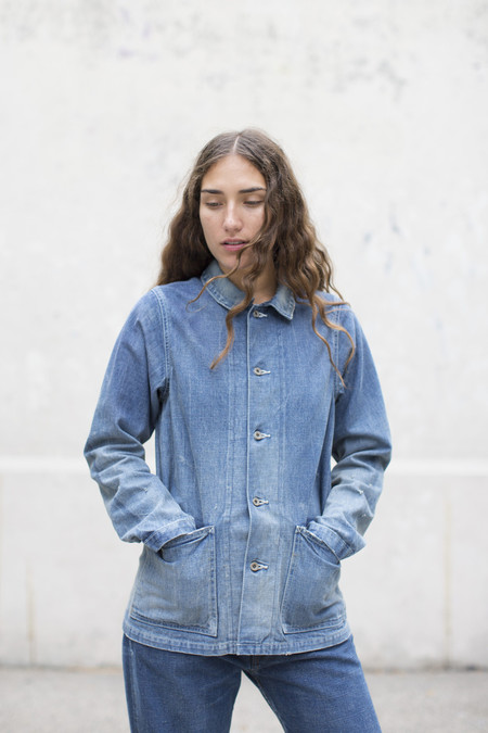 Unisex Chimala Selvedge Denim Chore Jacket